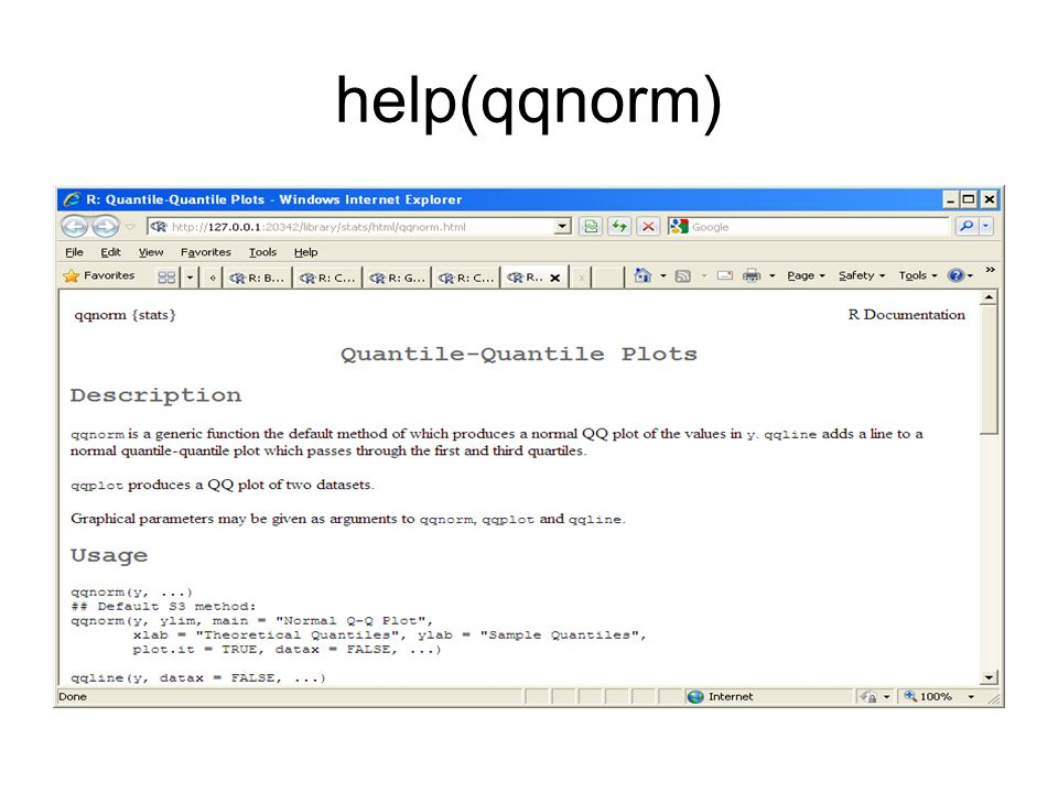 help(qqnorm)