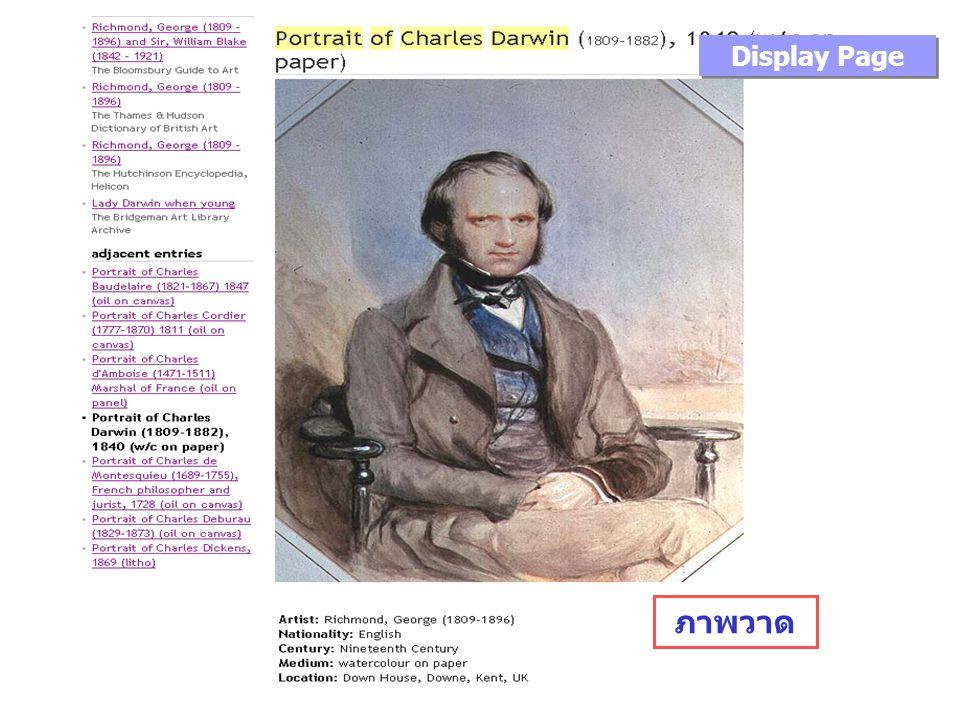 ภาพวาด Display Page