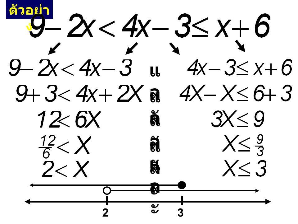 9 กฎทองคำหลักการแก้อสมการกำลังสองและสูงกว่า 4. รู้ว่าบวก ตัดทิ้ง