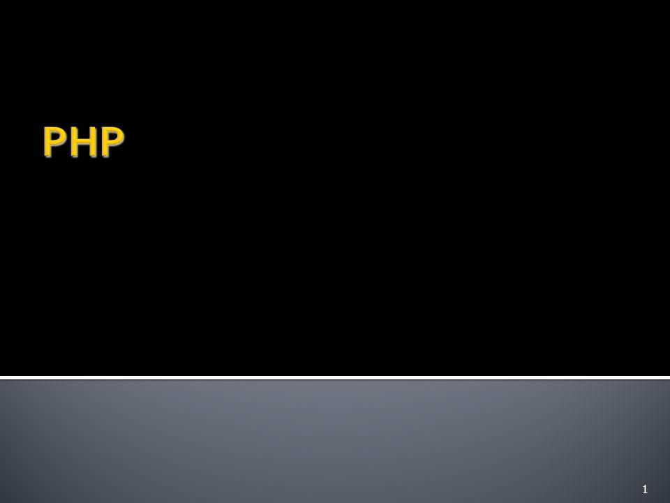  ประวัติของ PHP  PHP คืออะไร  ทำไม PHP จึงเป็นที่นิยม  โครงสร้างของ PHP  Language Reference  ข้อแตกต่างของ PHP กับ ASP PHP Programming introductio n2