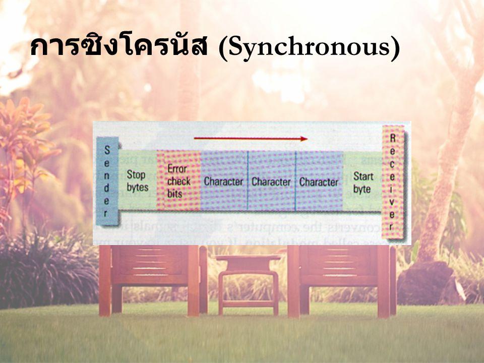 การซิงโครนัส (Synchronous)