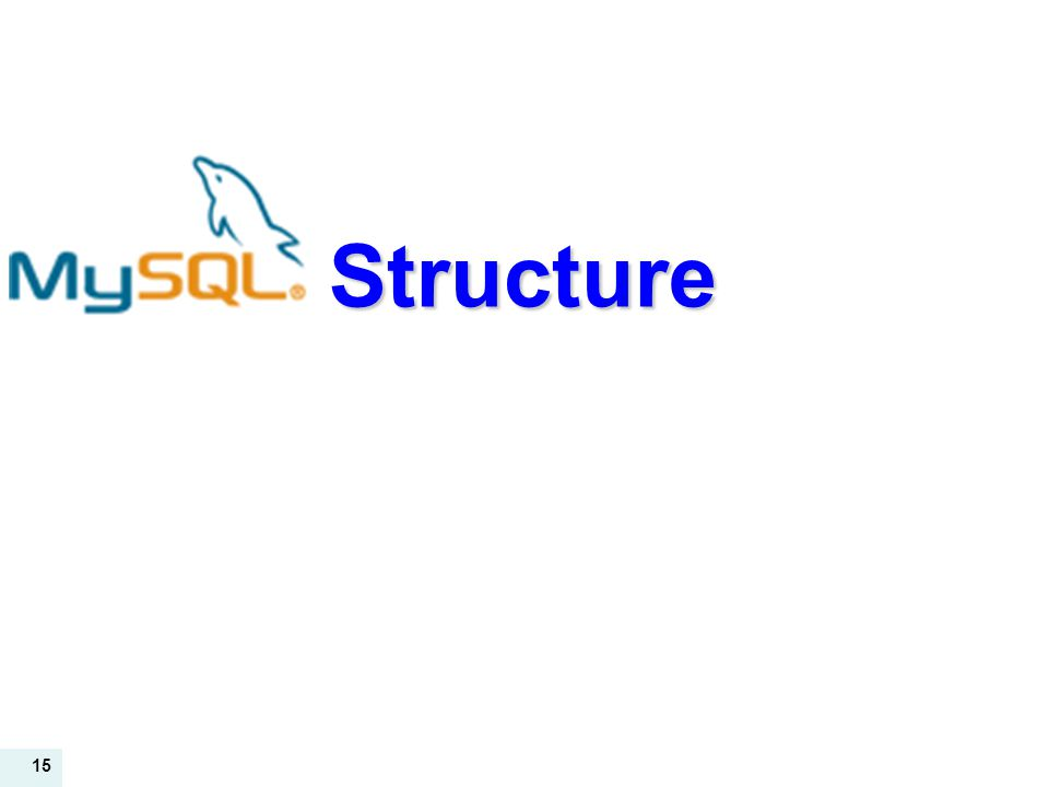 15 Structure