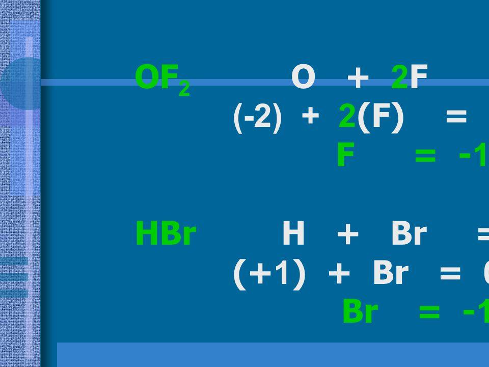 KIO 3 K + I + 3O = 0 (+1) + I + 3(-2) = 0 I = +5 I = +5