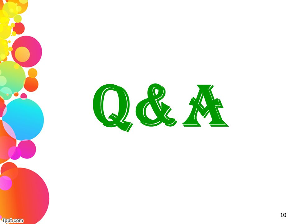 Q&A 10