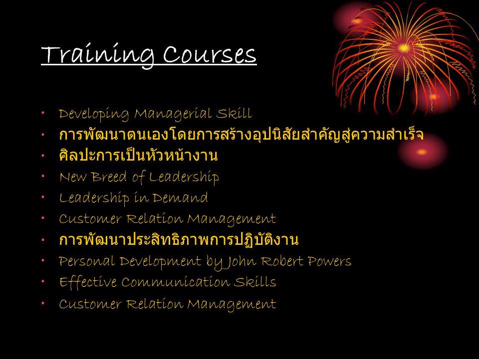 Guest Speaker Personality and service at Dhonburi Rajabaht University Usage of English in working at Rajamangala University of Technology Rattanakosin, Borpitpimuk Campus