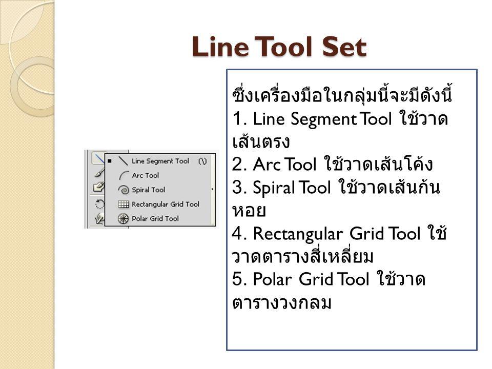 รู้จักกับหน้าตา Ai 1. Menu Bar เป็นแถบ รวบคำสั่งหลักของ โปรแกรม 2. Control Panel เป็น แถบควบคุมคุณสมบัติ ของเครื่องมือต่างๆ 3. Program Control ส่วนในก