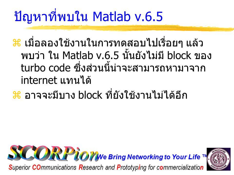 We Bring Networking to Your Life ™ S uperior CO mmunications R esearch and P rototyp i ng for c o mmercializatio n ขั้นตอนในการทดสอบ  ขั้นตอนในการทดสอบนั้นแบ่งออกเป็น 2 ขั้นตอน ดังนี้  ทดสอบเทียบแต่ละ block  แต่ละ block มารวมกันแล้วทดสอบทั้งระบบร่วมกัน