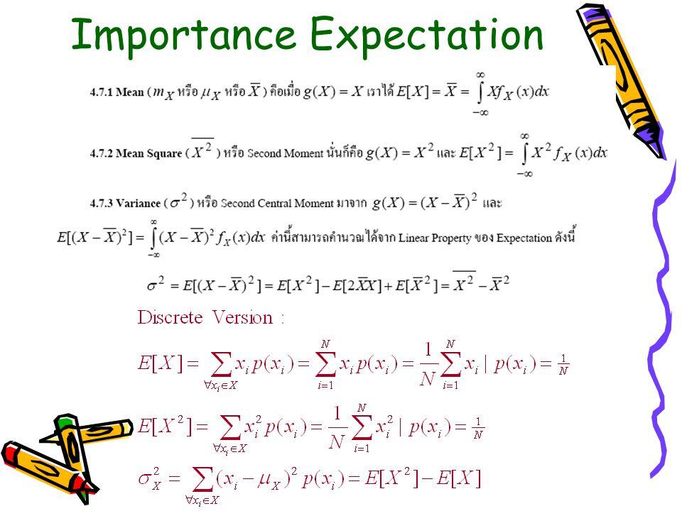 Importance Expectation