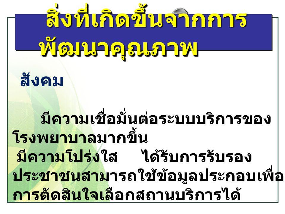 LOGO การเตรียมตัวก้าวสู่กระบวนการรับรอง โรงพยาบาลคุณภาพในปี2556-2557
