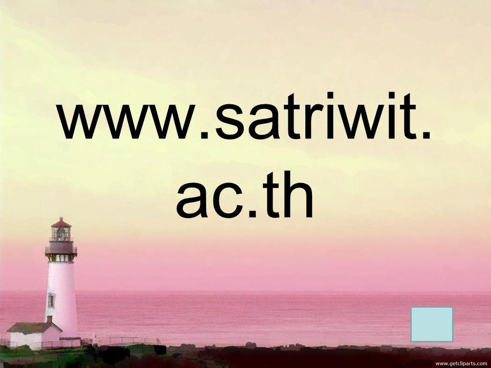 www.satriwit. ac.th