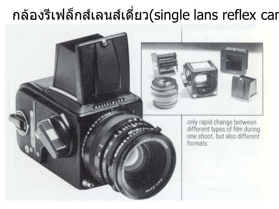 กล้องรีเฟล็กส์เลนส์เดี่ยว (single lans reflex camera, SLR)