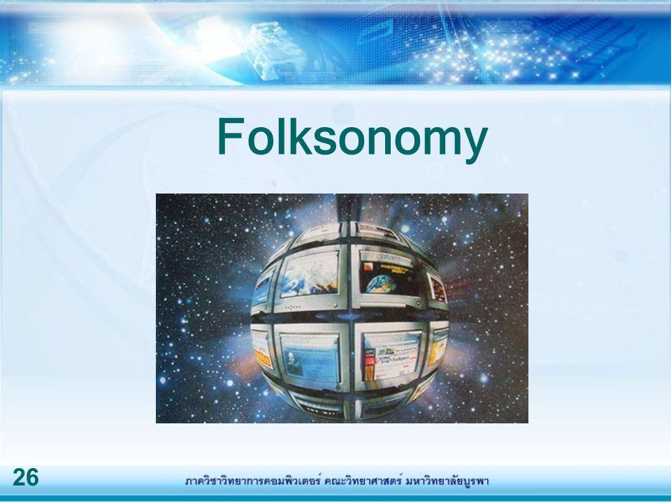 26 Folksonomy