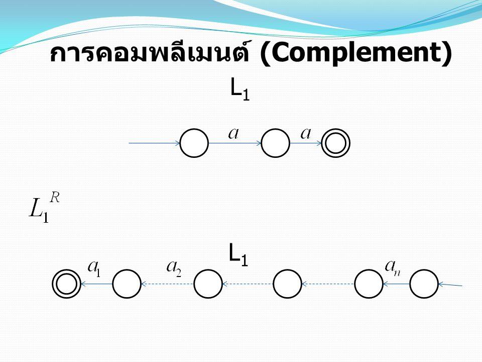 การคอมพลีเมนต์ (Complement) L1L1 L1L1