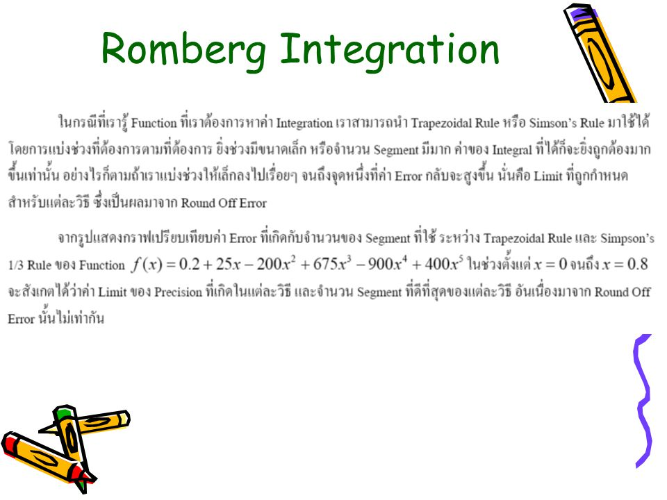 Romberg Integration
