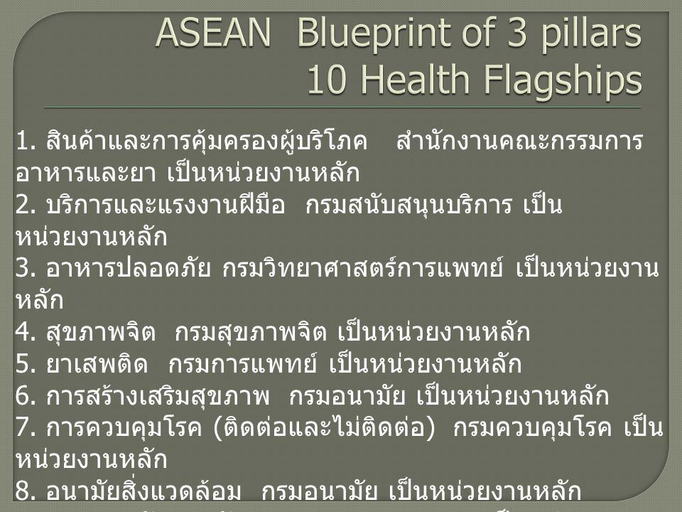 11.ระบบบริการสาธารณสุขสำหรับแรงงานต่างด้าว 12.