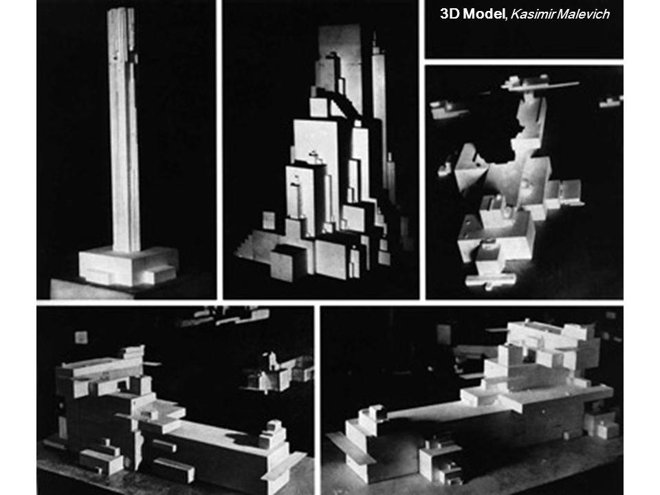 3D Model, Kasimir Malevich