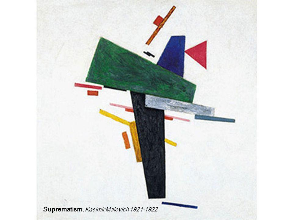 Suprematism, Kasimir Malevich 1921-1922