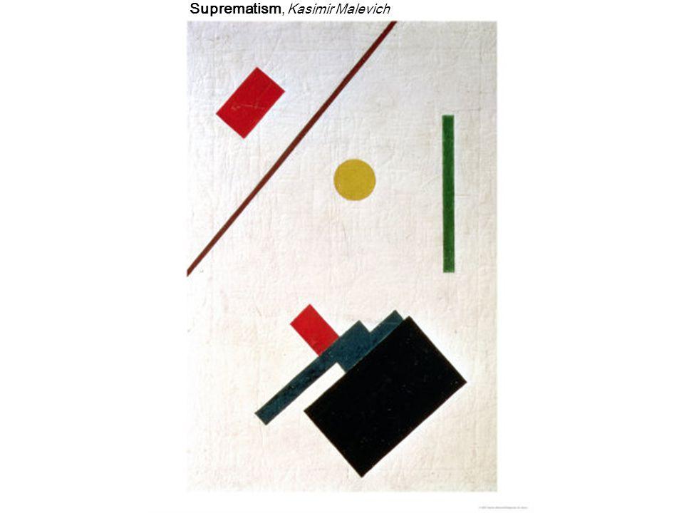 Suprematism, Kasimir Malevich