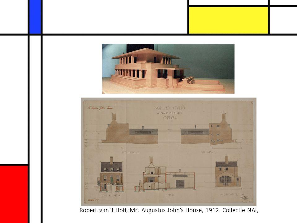 Robert van 't Hoff, Mr. Augustus John's House, 1912. Collectie NAi,