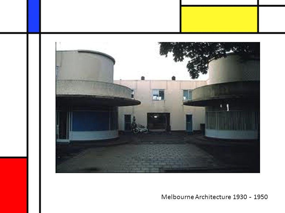 Melbourne Architecture 1930 - 1950