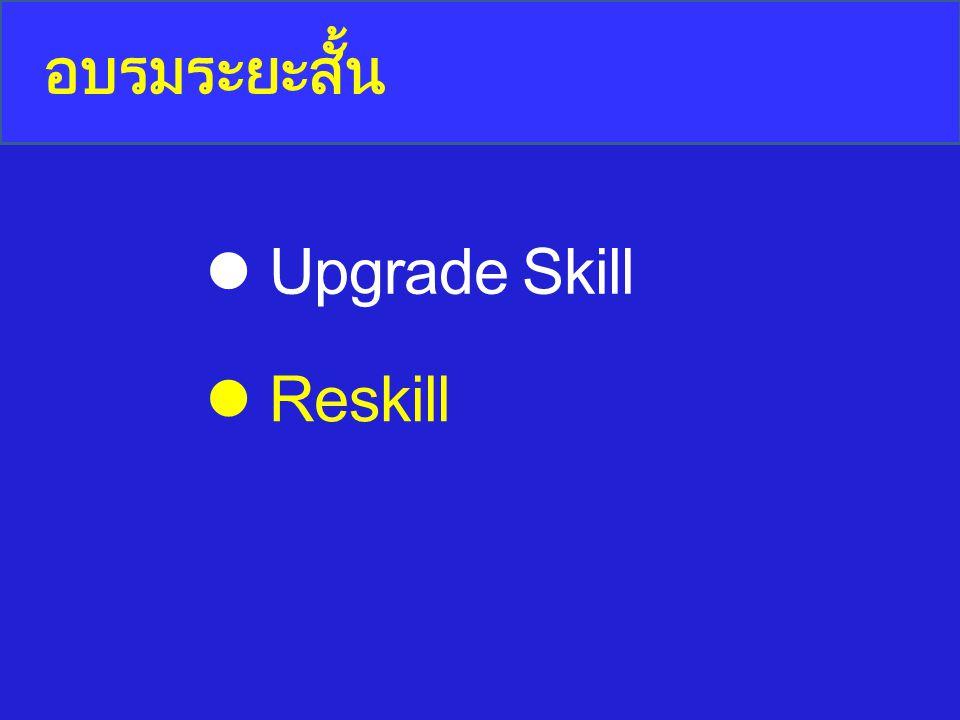 อบรมระยะสั้น Upgrade Skill Reskill
