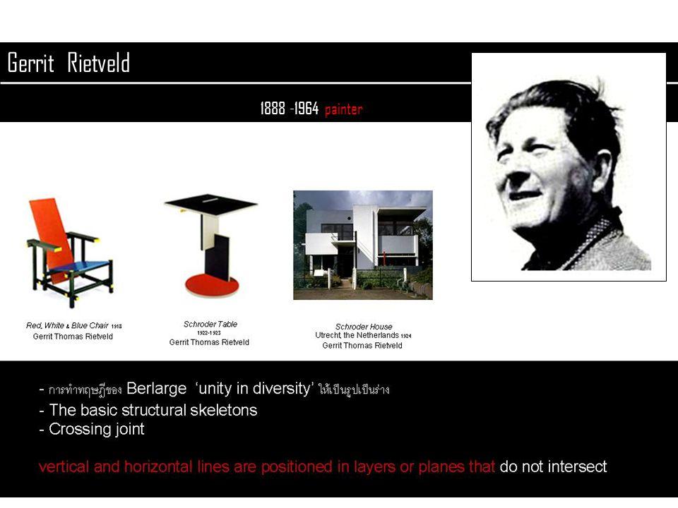 Gerrit Rietveld 1888 -1964 painter