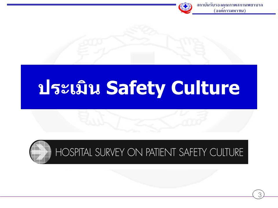 ประเมิน Safety Culture 3
