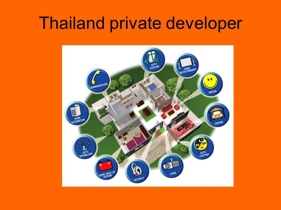Thailand private developer