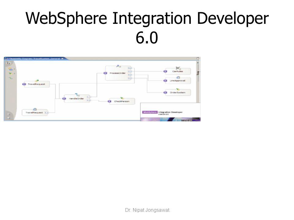 WebSphere Integration Developer 6.0 Dr. Nipat Jongsawat