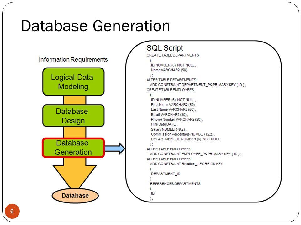 Database Generation 6