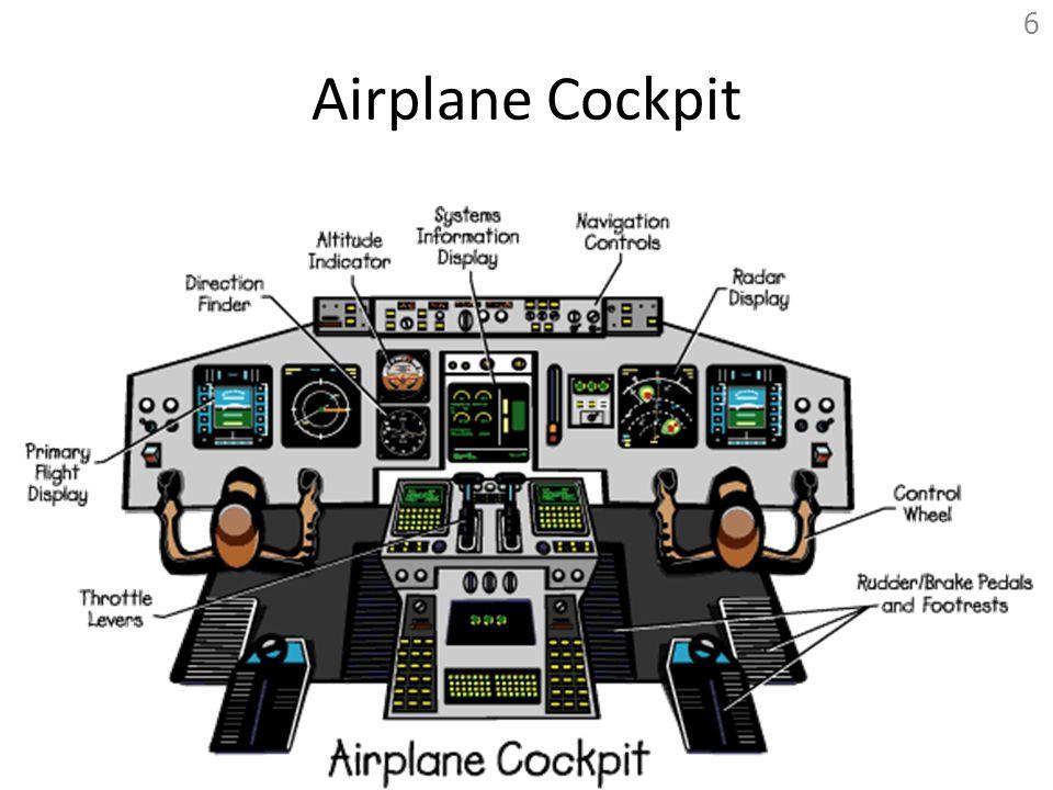 Airplane Cockpit 6