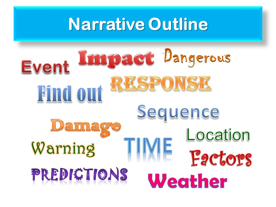 Narrative Outline