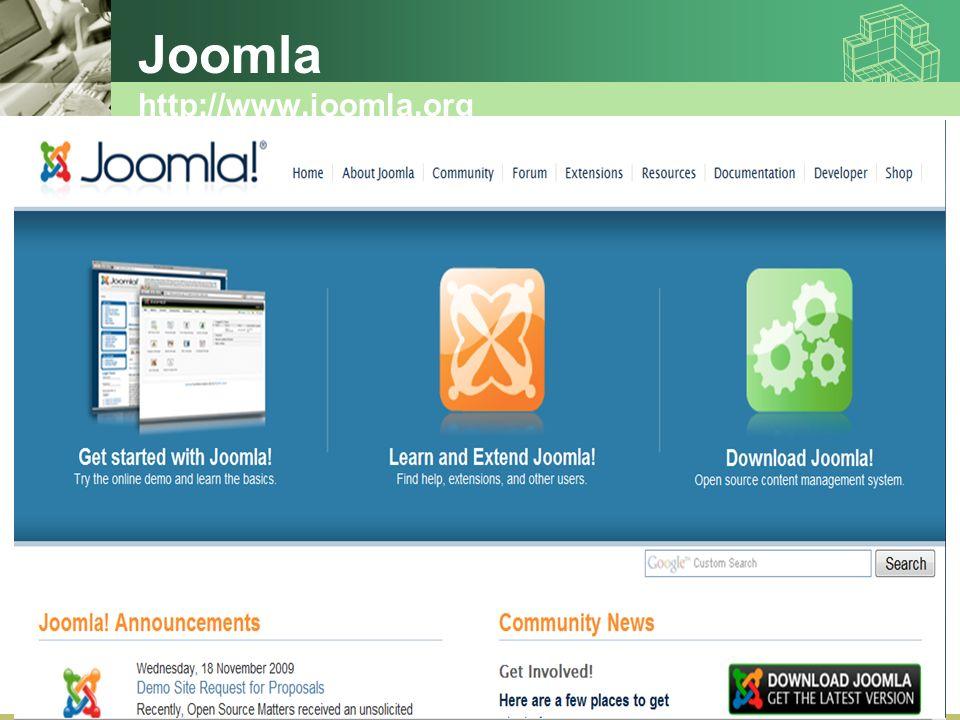 Joomla http://www.joomla.org