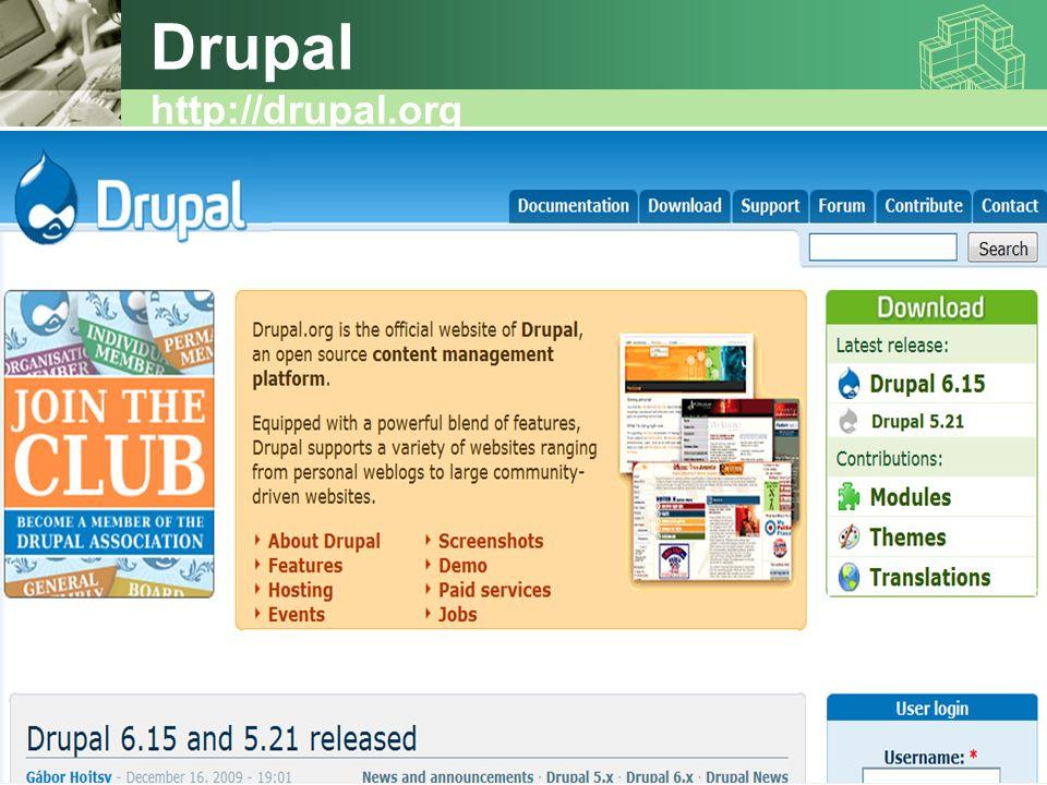 Drupal http://drupal.org