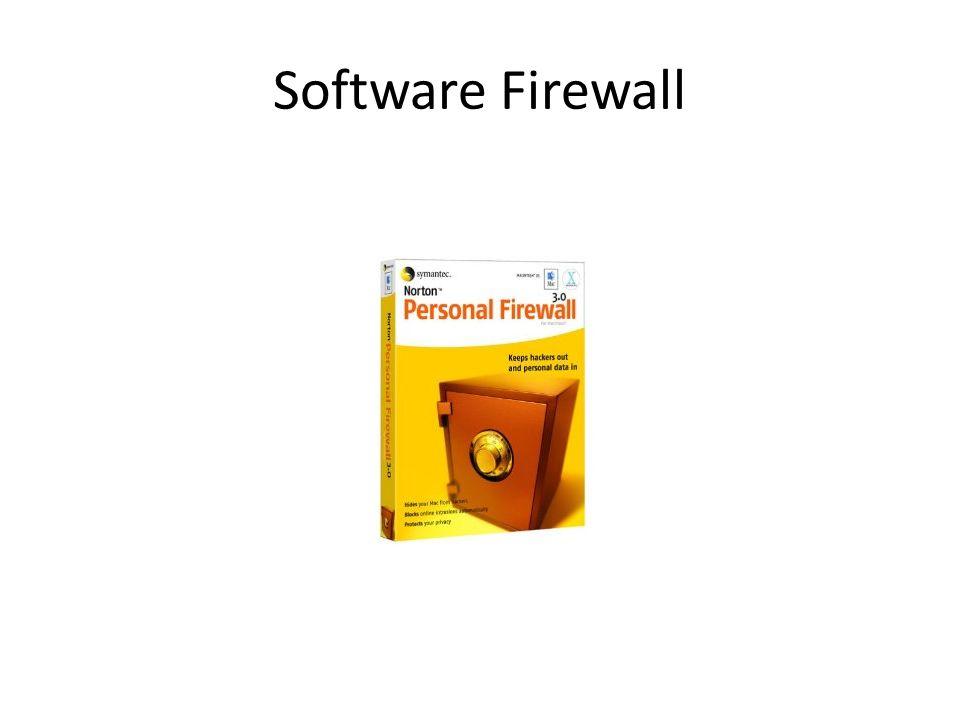 Software Firewall
