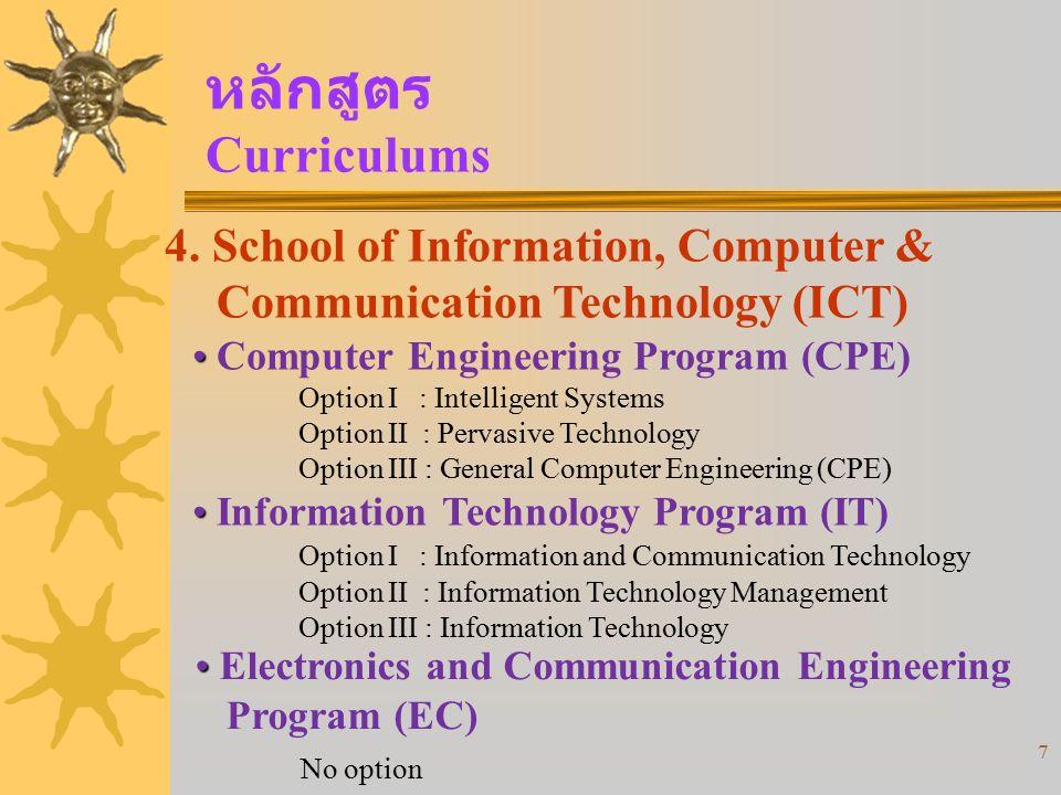 18 เกียรตินิยม Honors 1.Completing the study within 4 years.