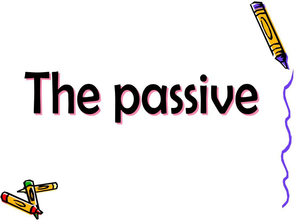 คือโครงสร้างของ verb ที่ noun หรือ pronoun เป็นตัวถูก กระทำ กฎของ passive ใช้ V.