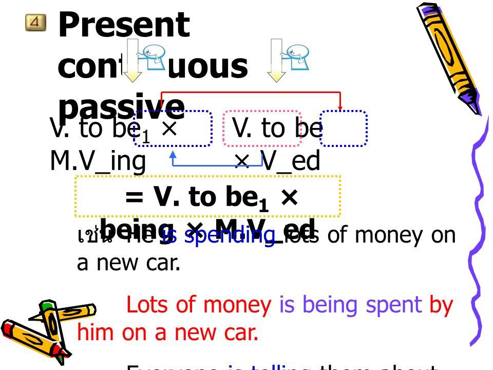 การใช้ adjective เหล่านี้แสดงสภาวะที่ subject ถูกกระทำ เช่น Paul is married.Paul is tired.