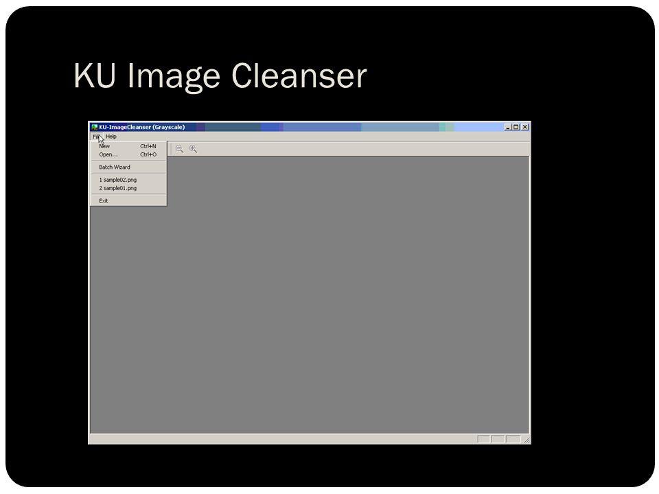 KU Image Cleanser