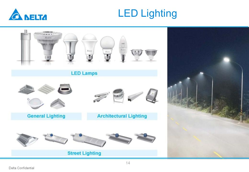 Delta Confidential 14 LED Lighting