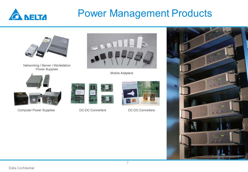 Delta Confidential 7 Power Management Products