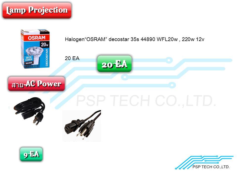 """Halogen""""OSRAM"""" decostar 35s 44890 WFL20w, 220w 12v 20 EA"""