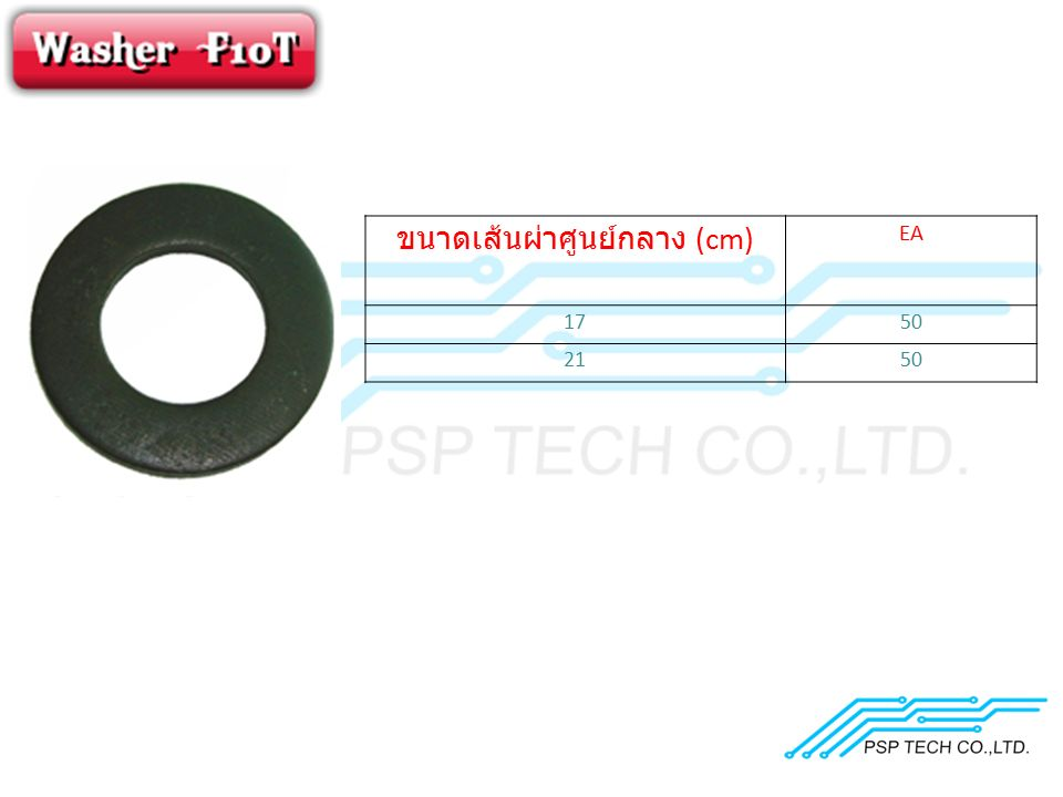 ขนาดเส้นผ่าศูนย์กลาง (cm) EA 1750 2150