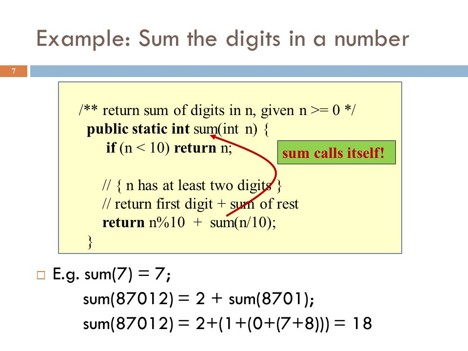 Extra slides 38  For use if we have time for one more example of recursion  This builds on the ideas in the Fibonacci example