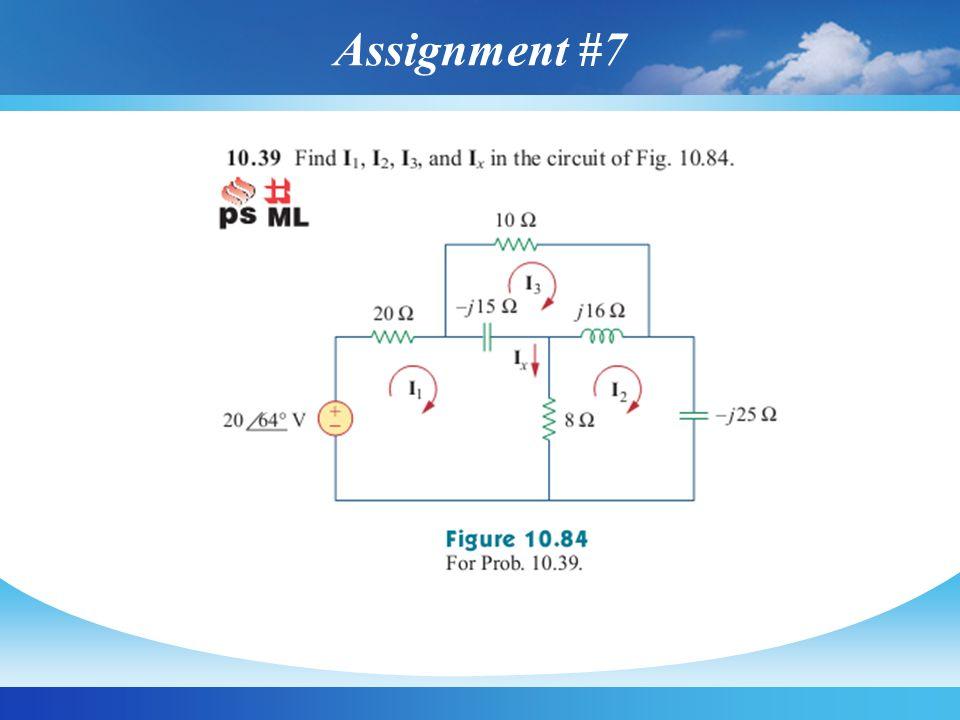 Assignment #7