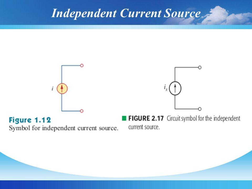 Independent Current Source