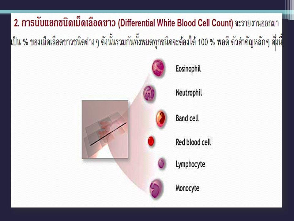 Platelet morphology
