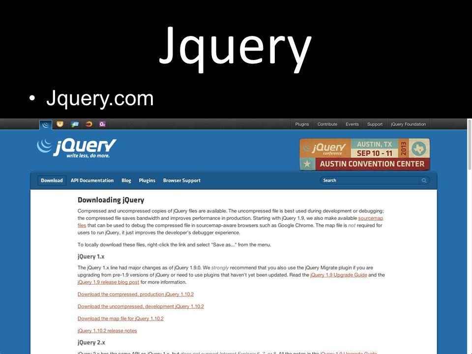 Jquery Jquery.com