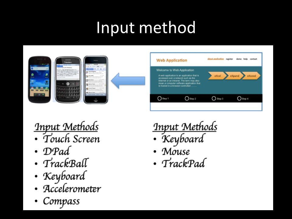 Cross-Platform Mobile Application Browser Component As the Common Platform