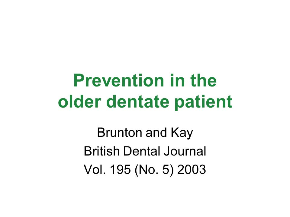 Determinants of caries risk Check diet Hx for fermentable carb Check frequency of consumption not confined with mealtimes Amount and nature of plaque Amount and nature of saliva Check Medical Hx (xerostomia, cariogenic medication, cognitive function) (Brunton & Kay, 2003)